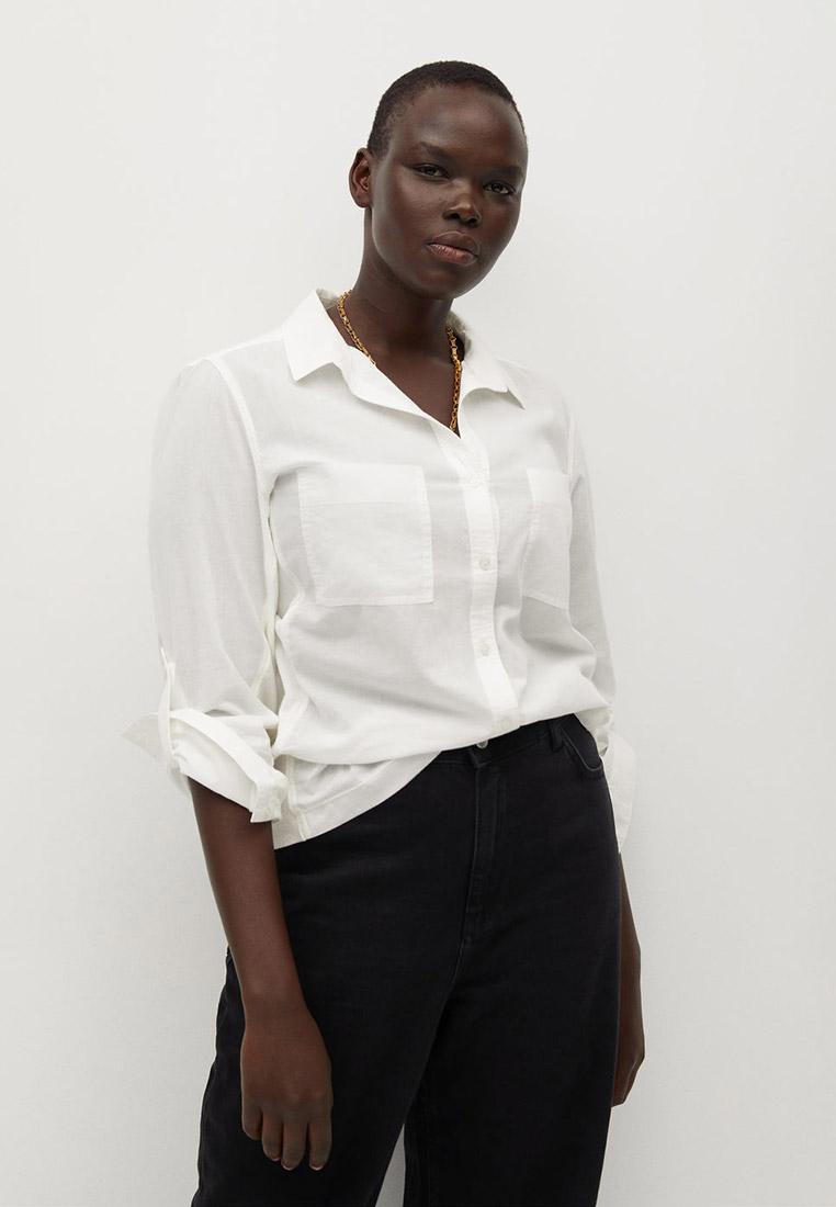 Женские рубашки с длинным рукавом Violeta by Mango (Виолетта бай Манго) 77040510