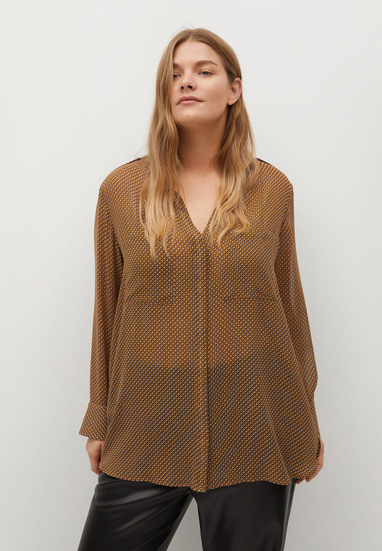 Блуза Violeta by Mango (Виолетта бай Манго) 87080552