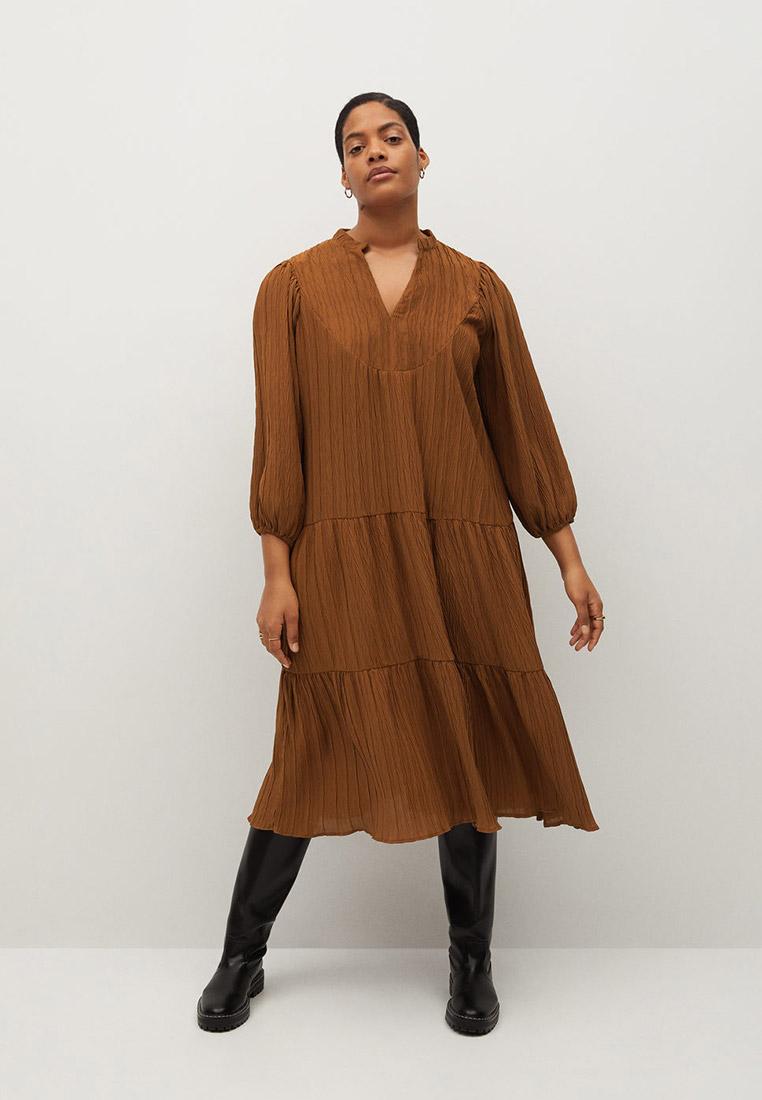 Повседневное платье Violeta by Mango (Виолетта бай Манго) 87090525: изображение 2