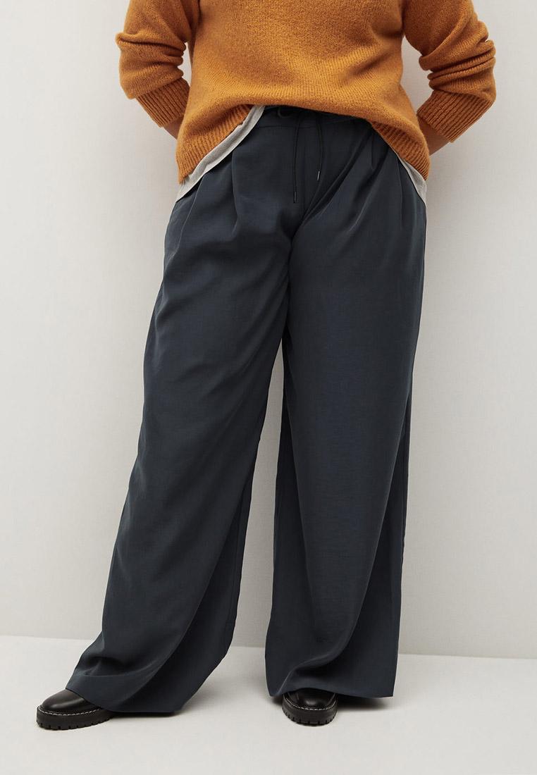 Женские широкие и расклешенные брюки Violeta by Mango (Виолетта бай Манго) 87040034