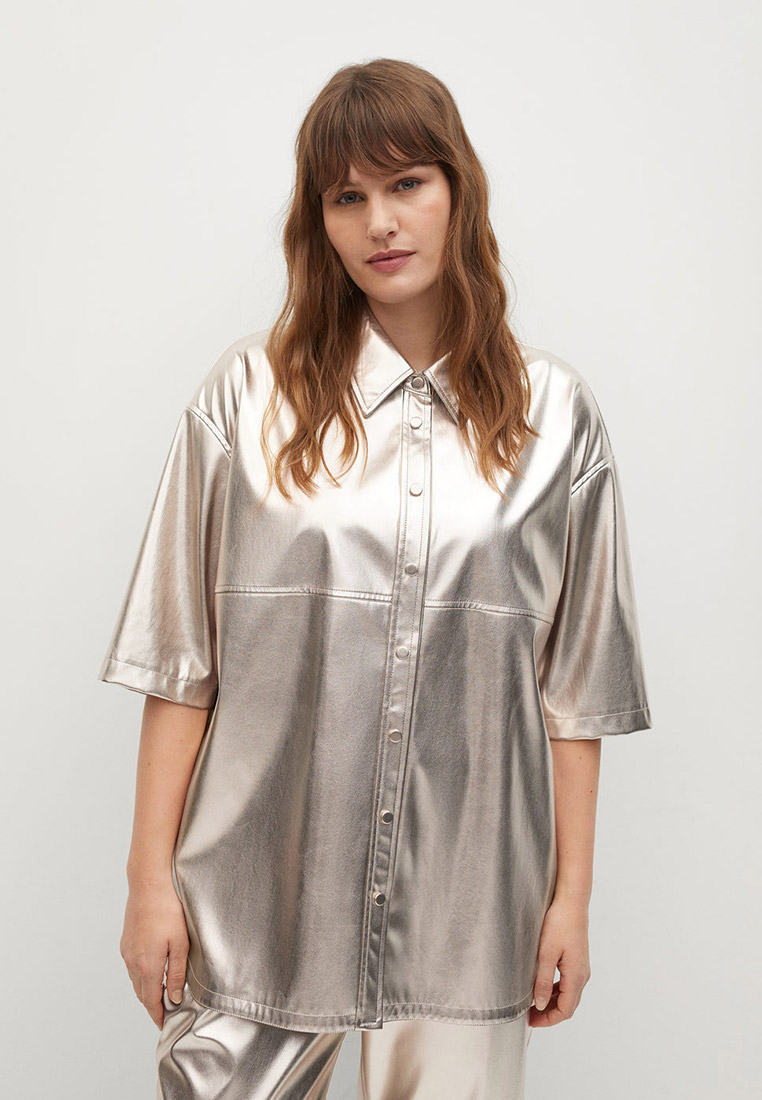 Рубашка Violeta by Mango (Виолетта бай Манго) 87034015
