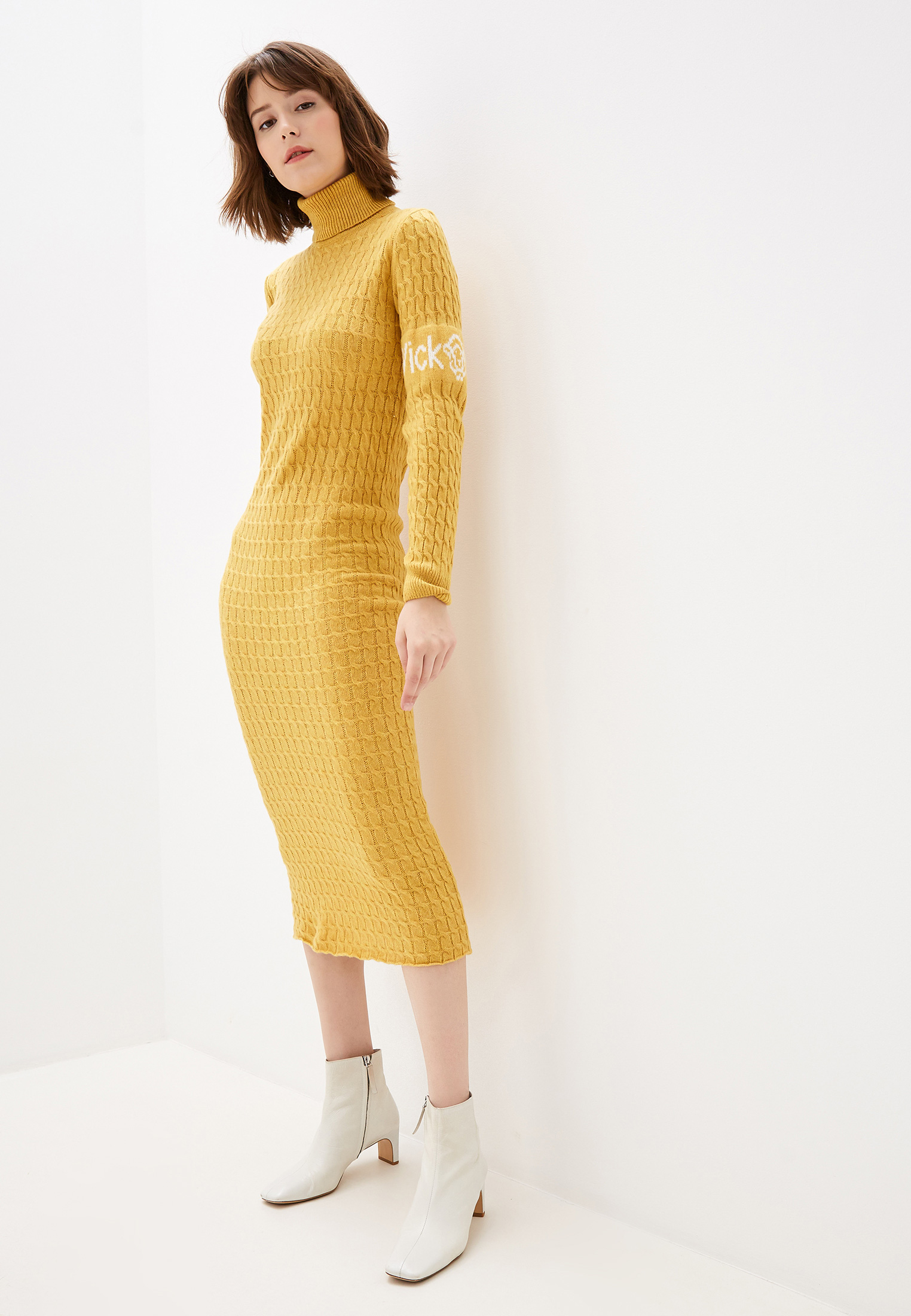 Вязаное платье Vickwool PM1326-3
