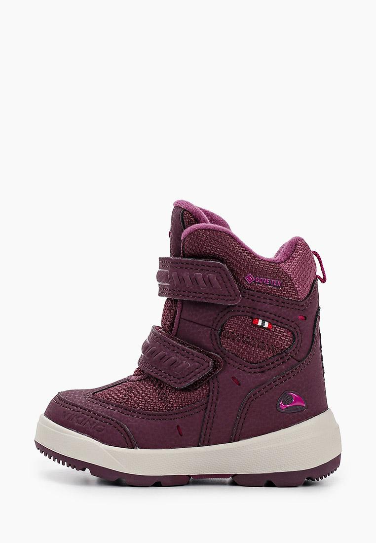 Ботинки для девочек Viking 3-87060