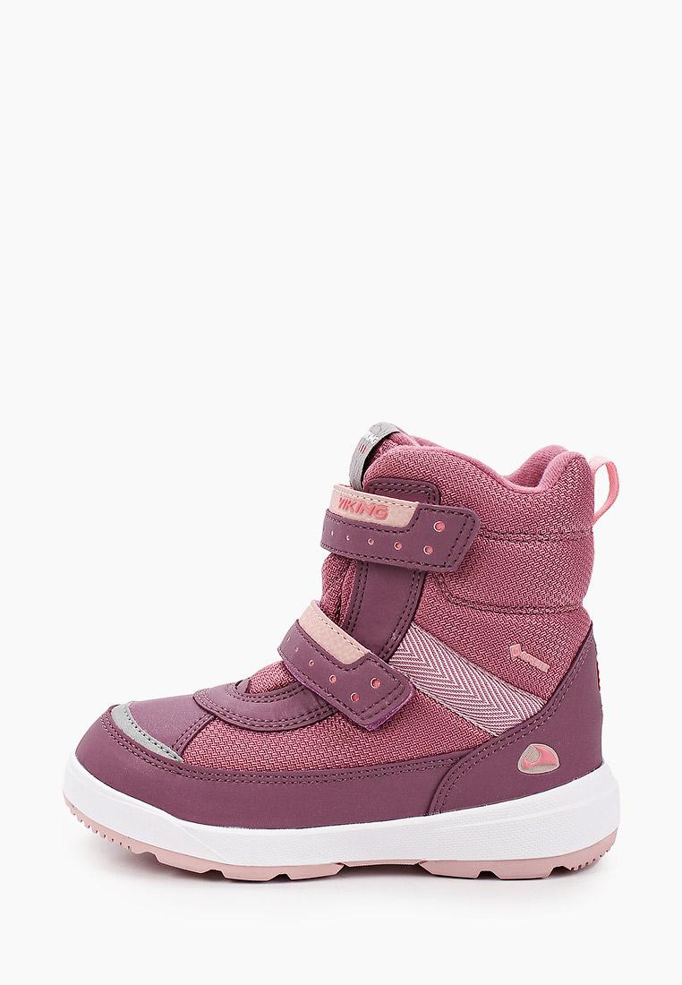 Ботинки для девочек Viking 3-87025