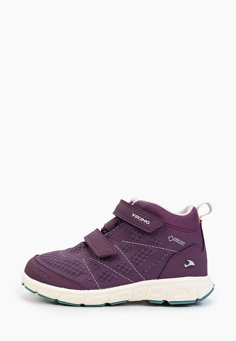 Ботинки для девочек Viking 3-47305-1647