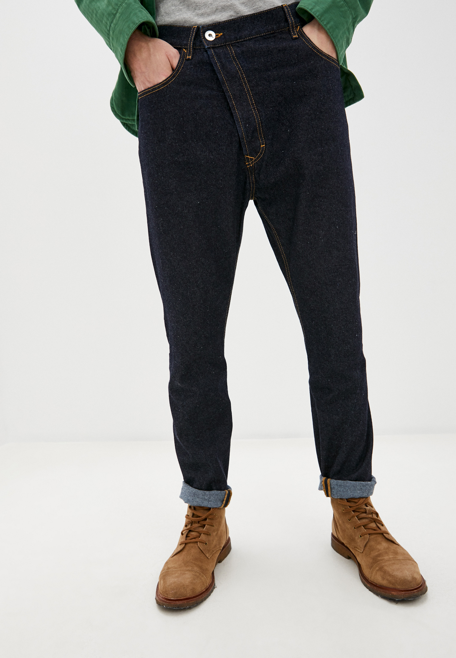 Мужские прямые джинсы Vivienne Westwood (Вивьен Вествуд) 28020028-11666-DE