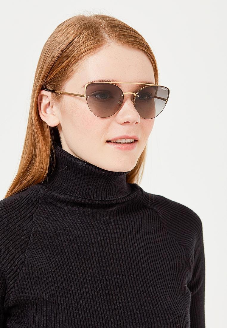 Женские солнцезащитные очки Vogue® Eyewear 0VO4074S: изображение 5