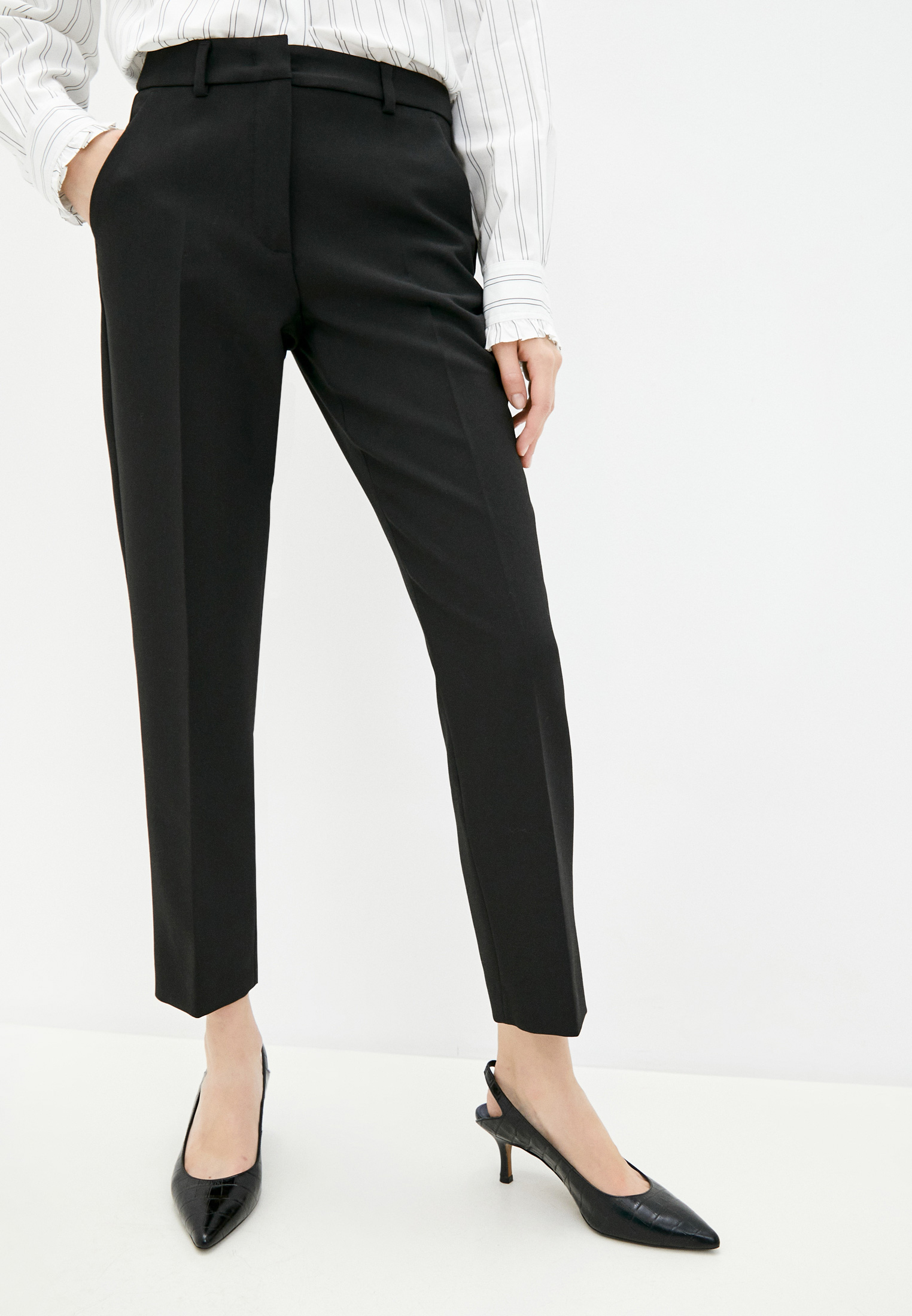Женские классические брюки Weekend Max Mara 51361709