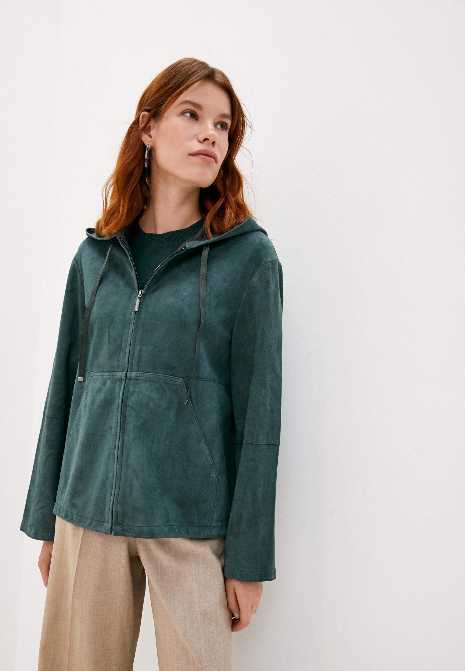 Кожаная куртка Weekend Max Mara 54460109
