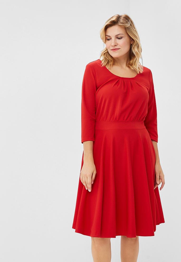 Вязаное платье Wersimi W19_RED