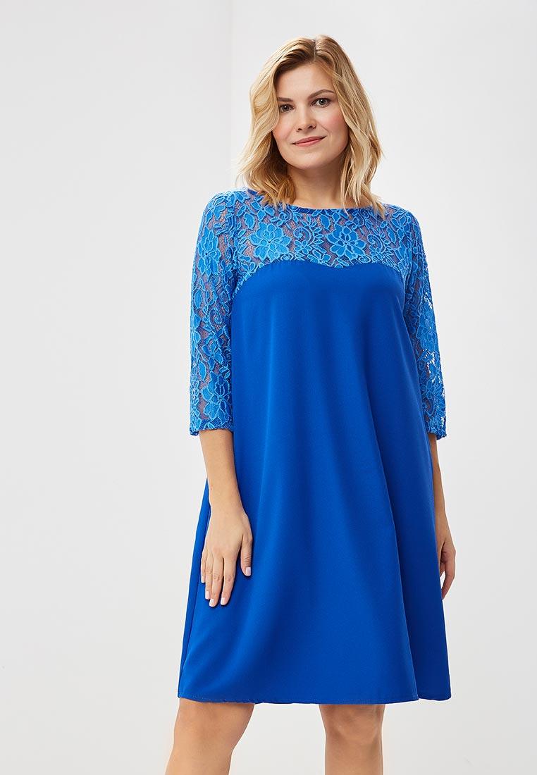 Платье-миди Wersimi W24_COBALT