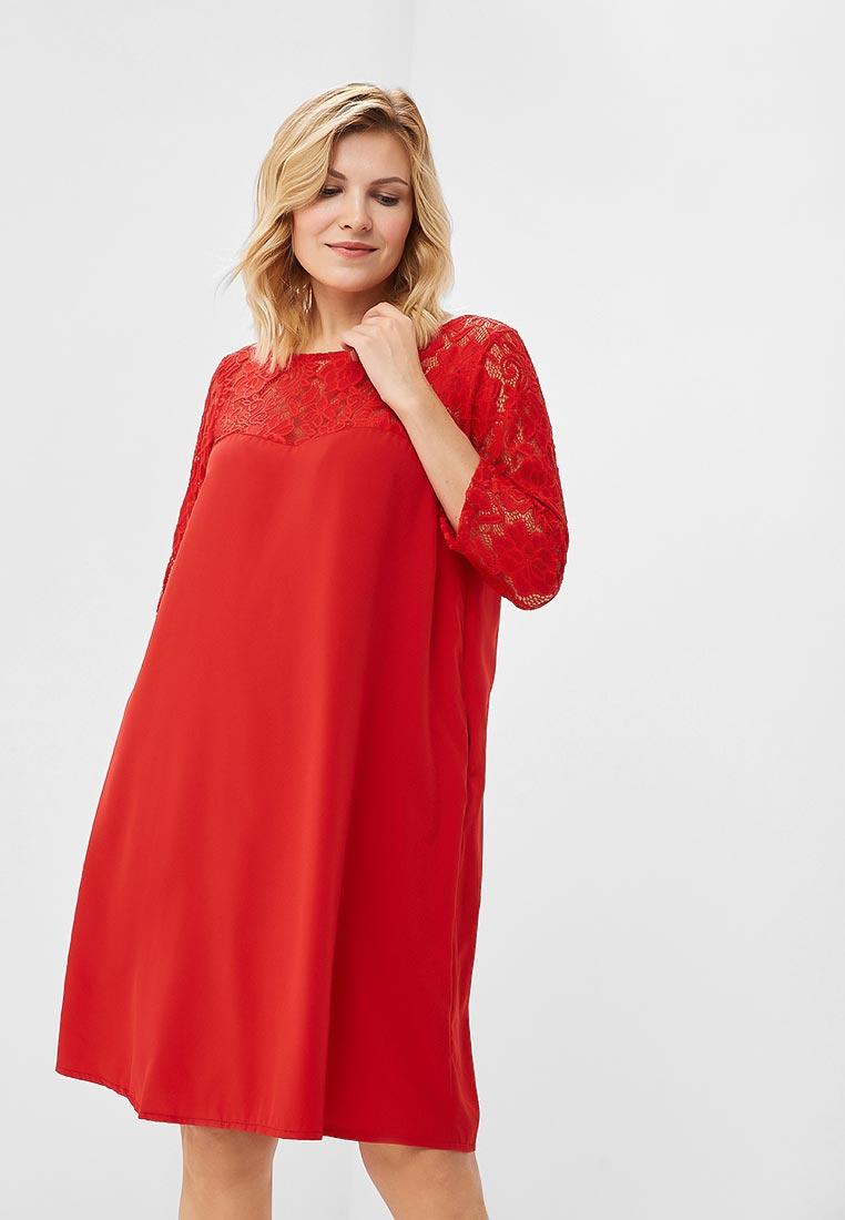 Платье-миди Wersimi W24_RED