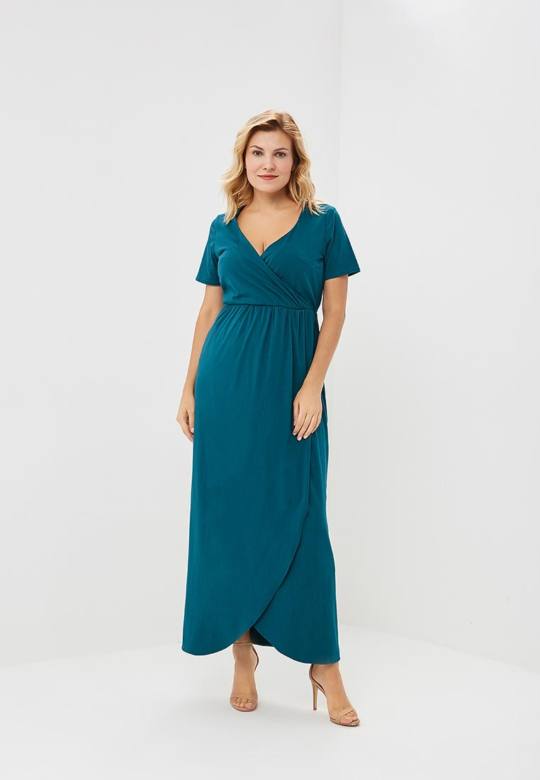 Повседневное платье Wersimi W27_GREEN