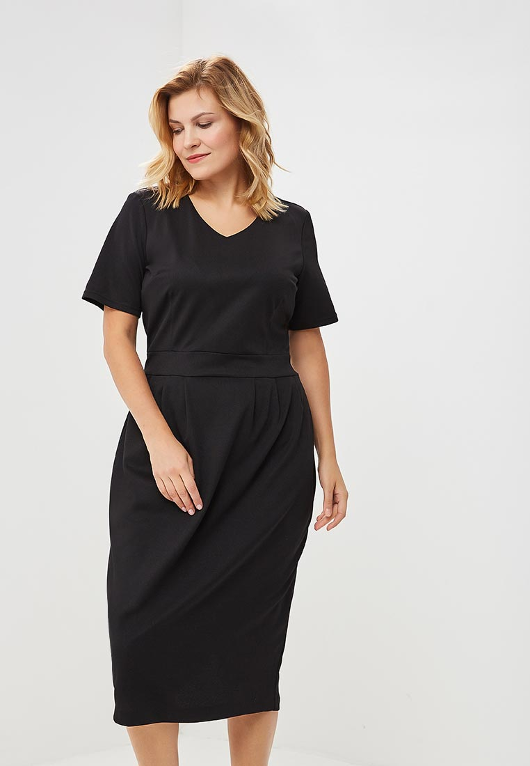 Повседневное платье Wersimi W43_BLACK