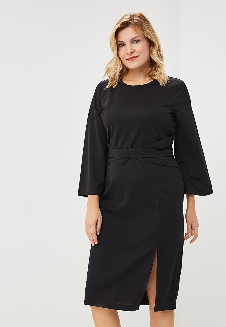 Вязаное платье Wersimi W44_BLACK