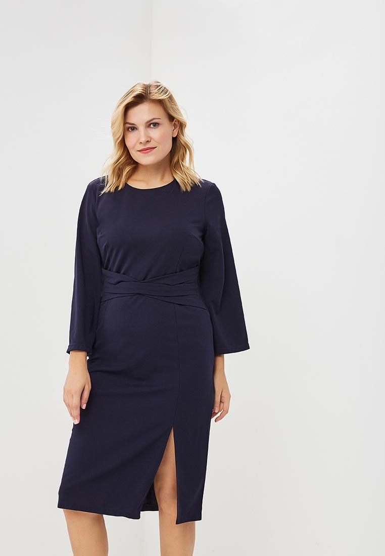 Вязаное платье Wersimi W44_NAVY
