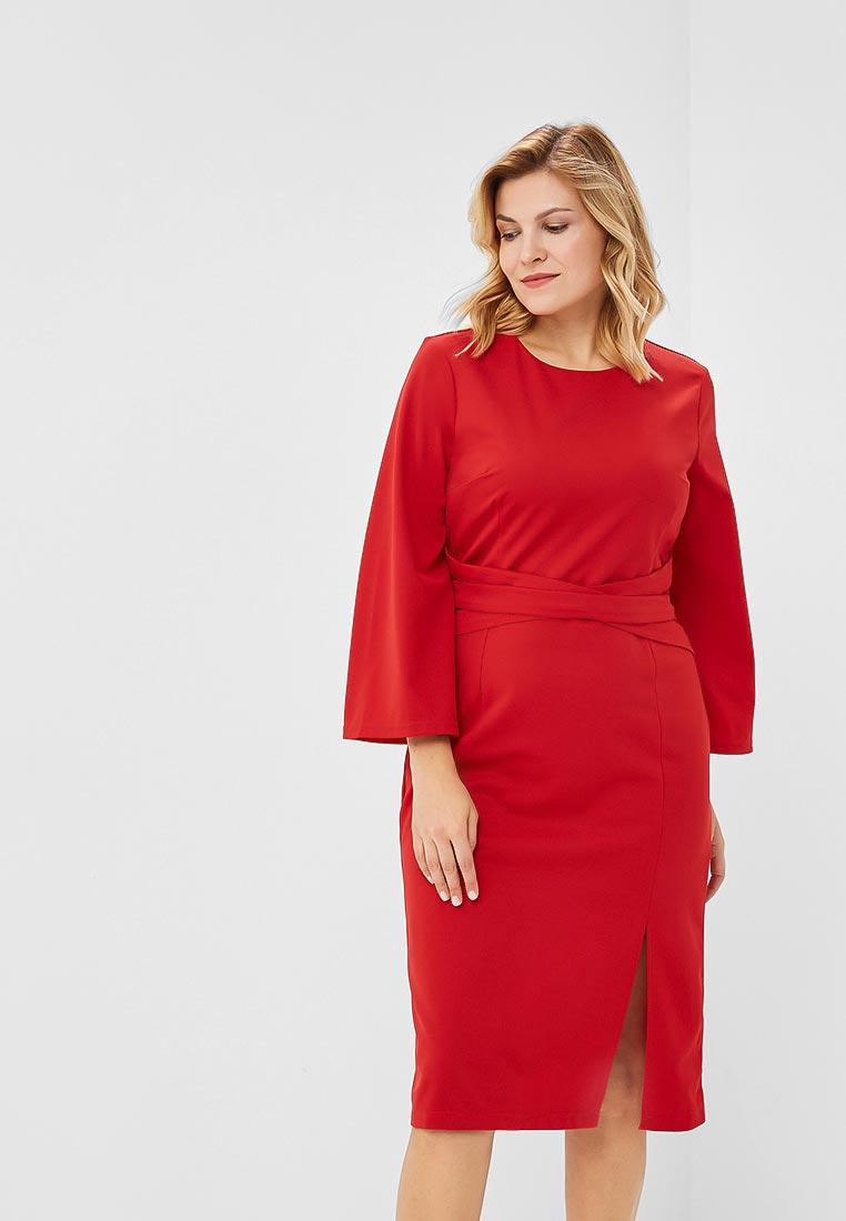 0924bb6833d Красные платья-миди - купить стильное платье в интернет магазине