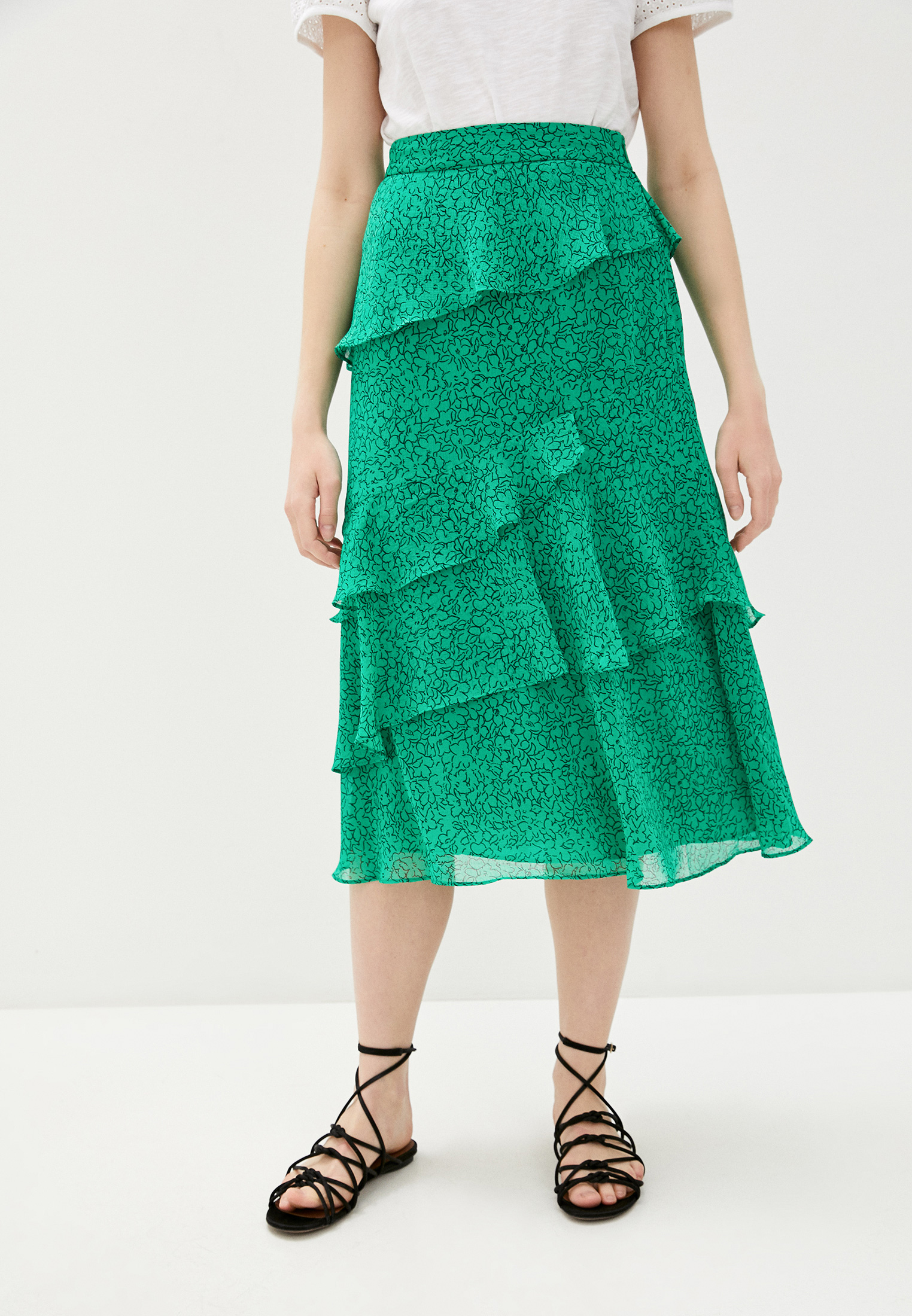 Широкая юбка Whistles 31037