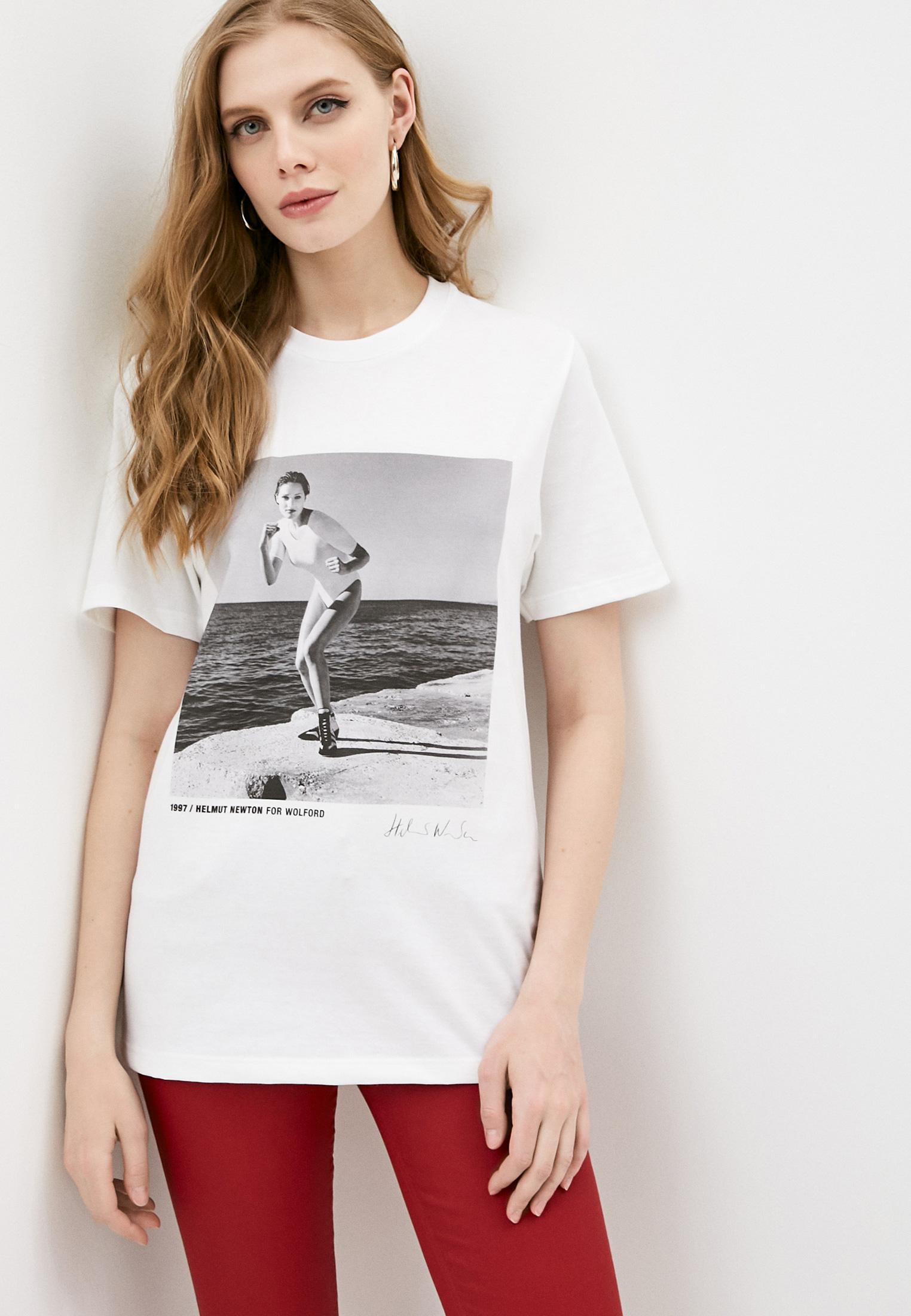 Футболка с коротким рукавом Wolford (Волфорд) 528059656