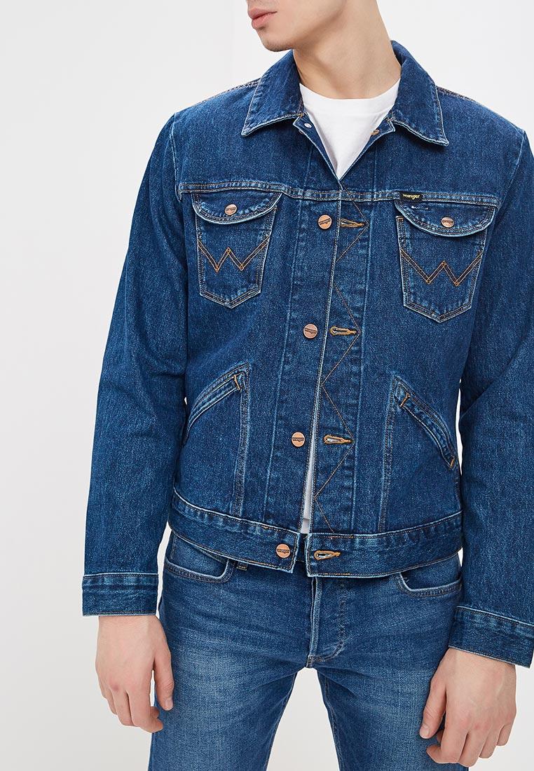 Джинсовая куртка Wrangler (Вранглер) W4MJUG923: изображение 1