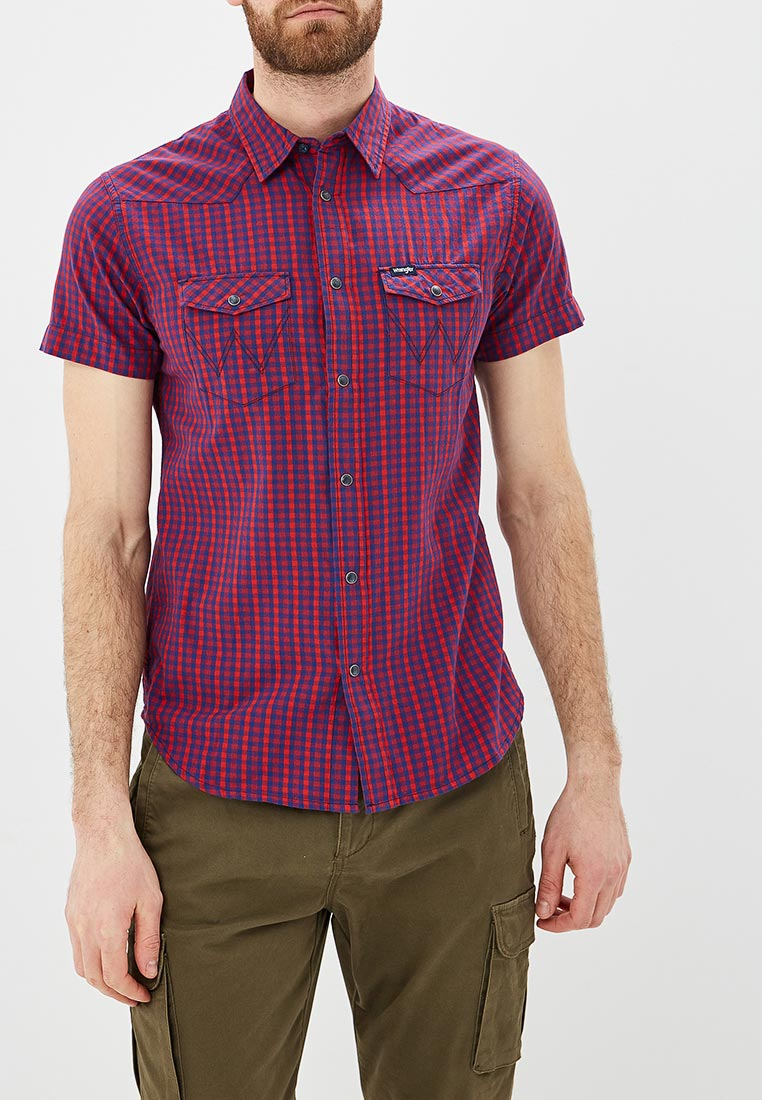 Рубашка с коротким рукавом Wrangler (Вранглер) W5A244M1P