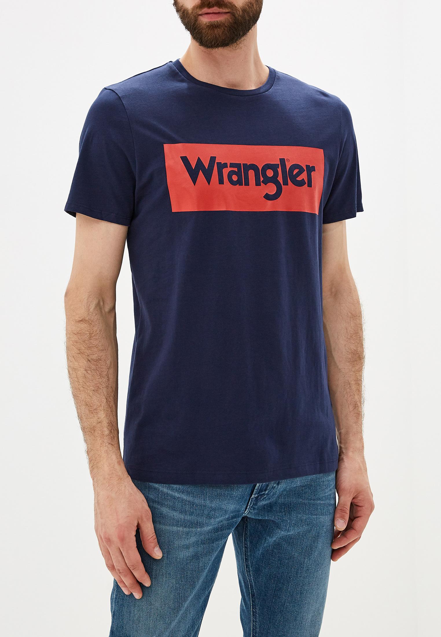 Футболка Wrangler (Вранглер) W742FK114: изображение 1