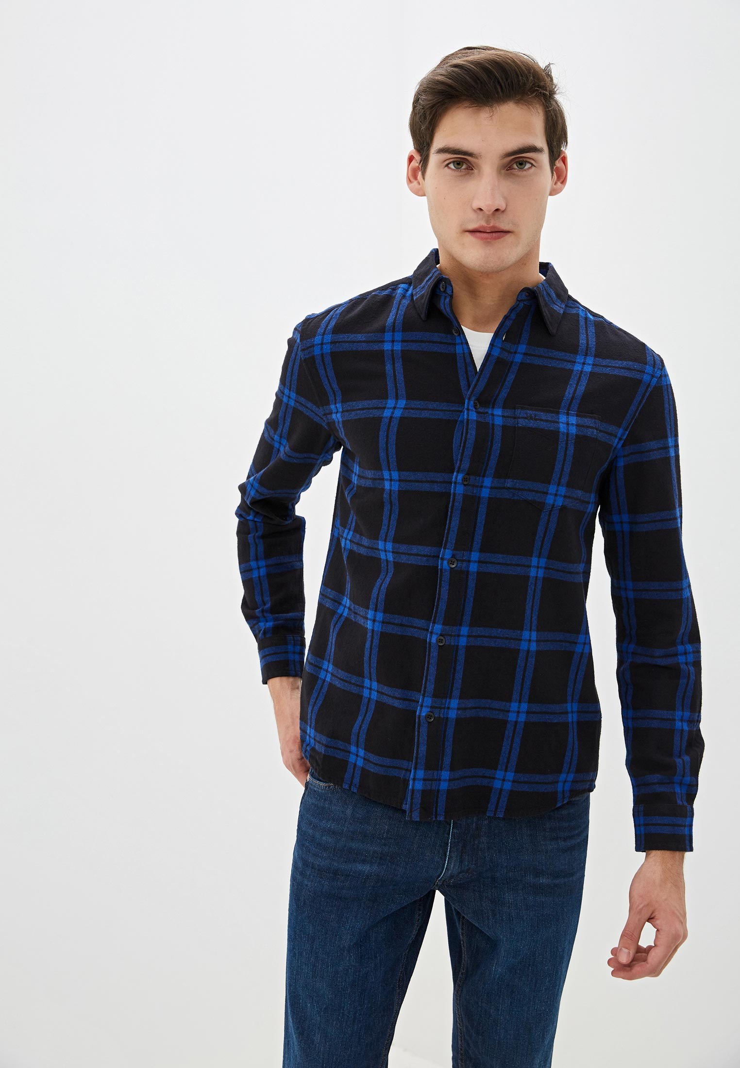 Рубашка с длинным рукавом Wrangler (Вранглер) W5A1T2B09