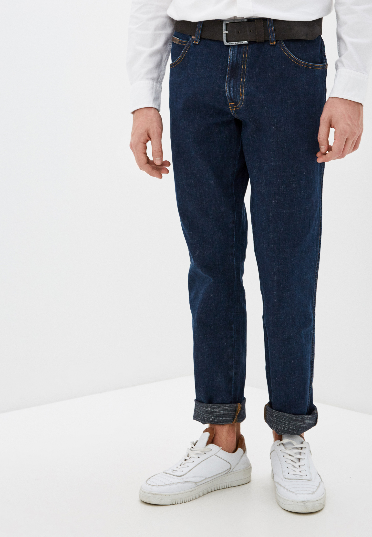 Мужские прямые джинсы Wrangler (Вранглер) W12S8311U