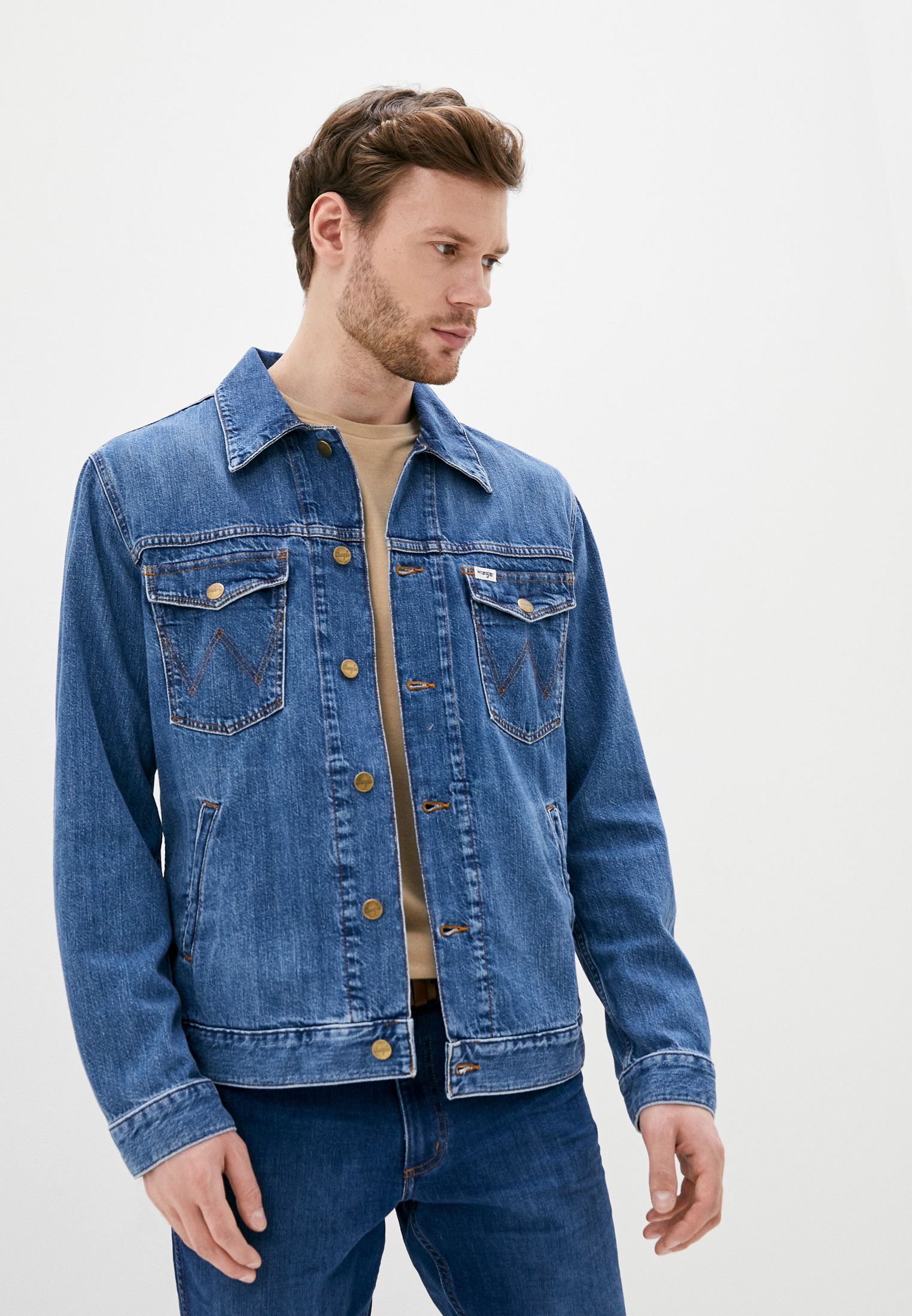 Джинсовая куртка Wrangler (Вранглер) W443Q318F