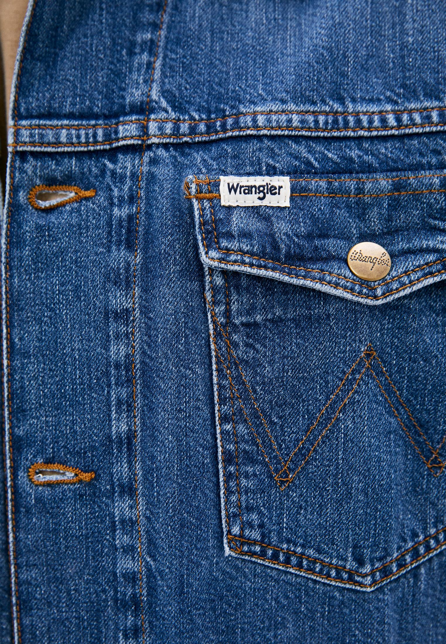Джинсовая куртка Wrangler (Вранглер) W443Q318F: изображение 4