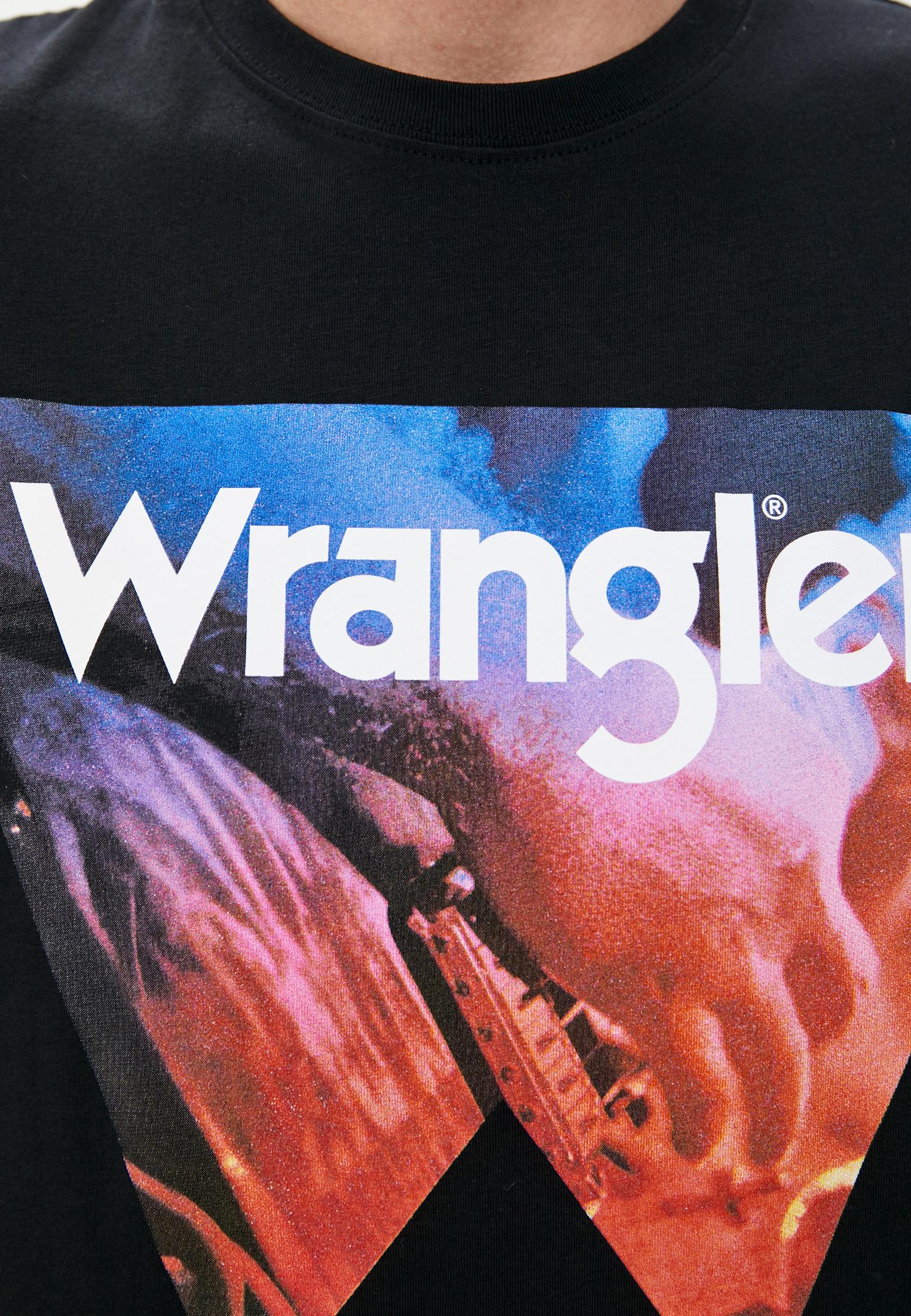 Футболка Wrangler (Вранглер) W7G7FK100: изображение 3