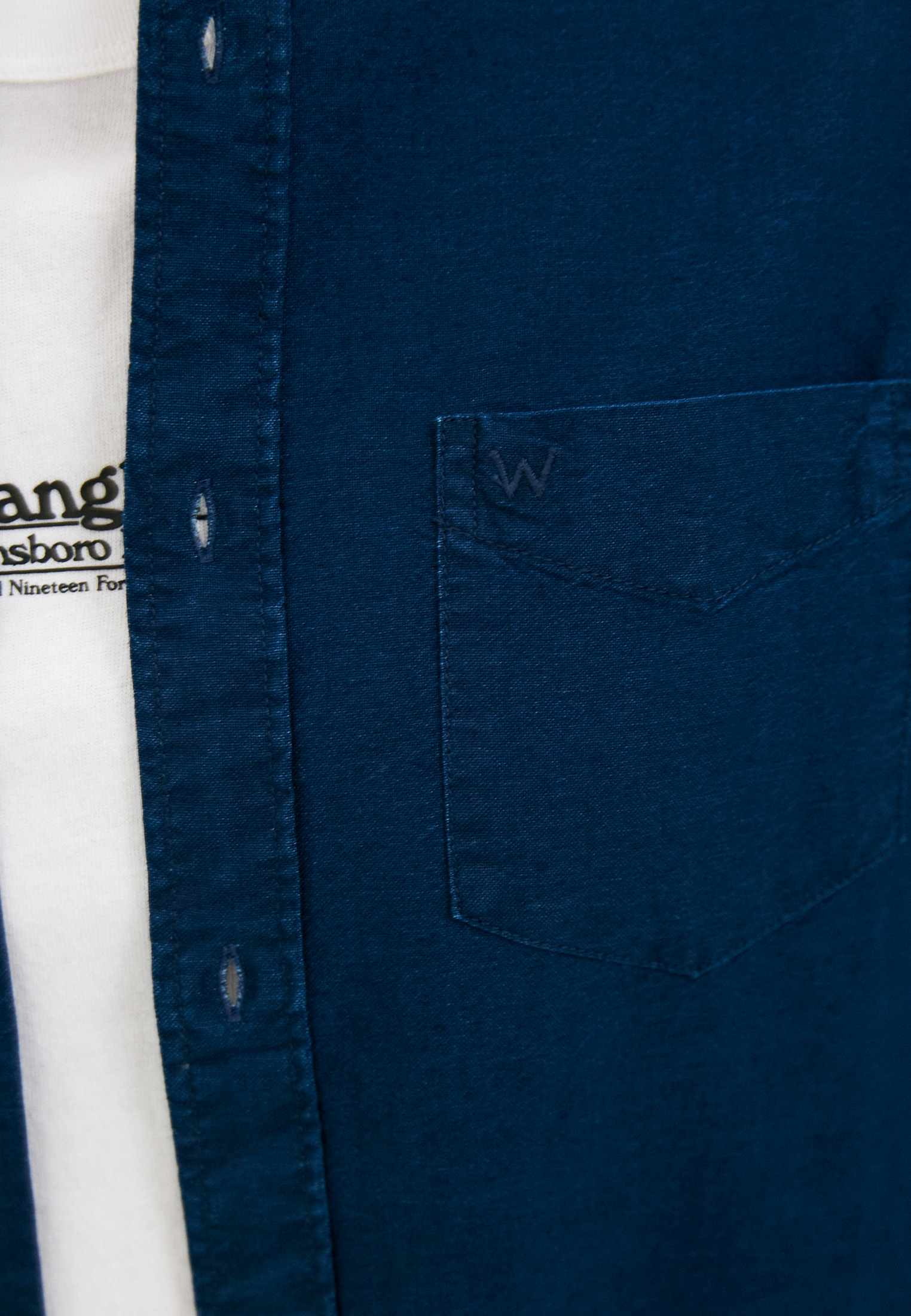 Рубашка с длинным рукавом Wrangler (Вранглер) W5A3BM452: изображение 4