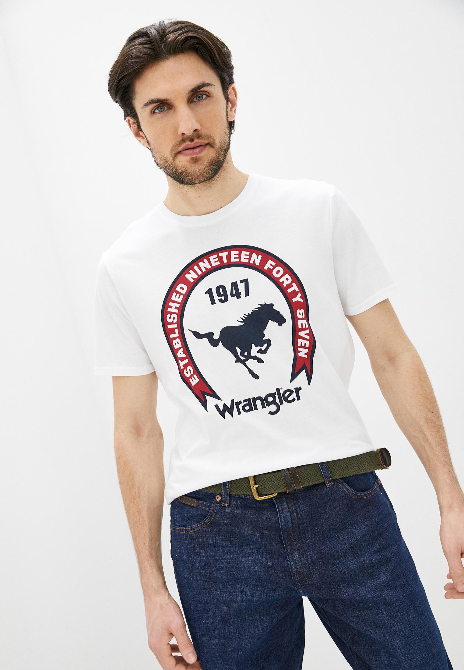 Футболка с коротким рукавом Wrangler (Вранглер) Футболка Wrangler