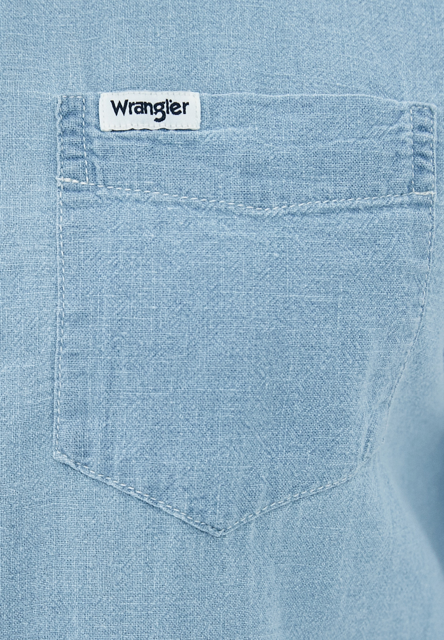 Рубашка с длинным рукавом Wrangler (Вранглер) W5A1LOX4E: изображение 4