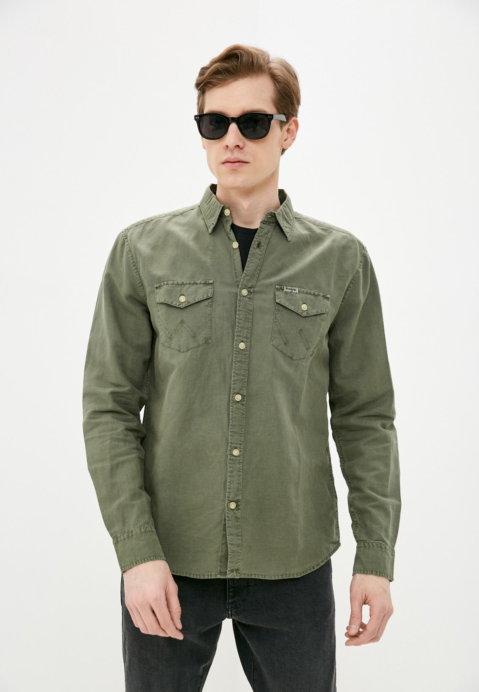 Рубашка с длинным рукавом Wrangler (Вранглер) Рубашка Wrangler