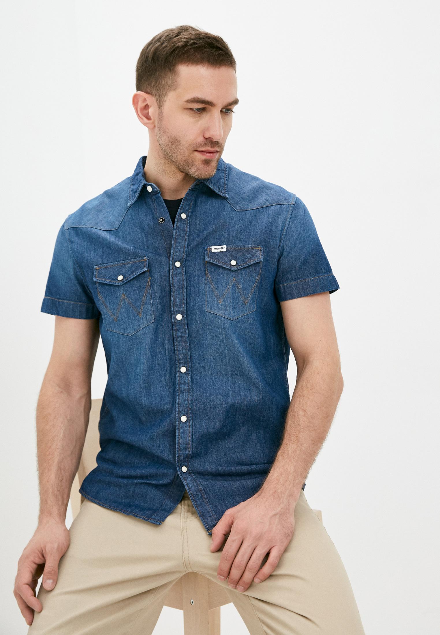 Рубашка Wrangler (Вранглер) Рубашка джинсовая Wrangler