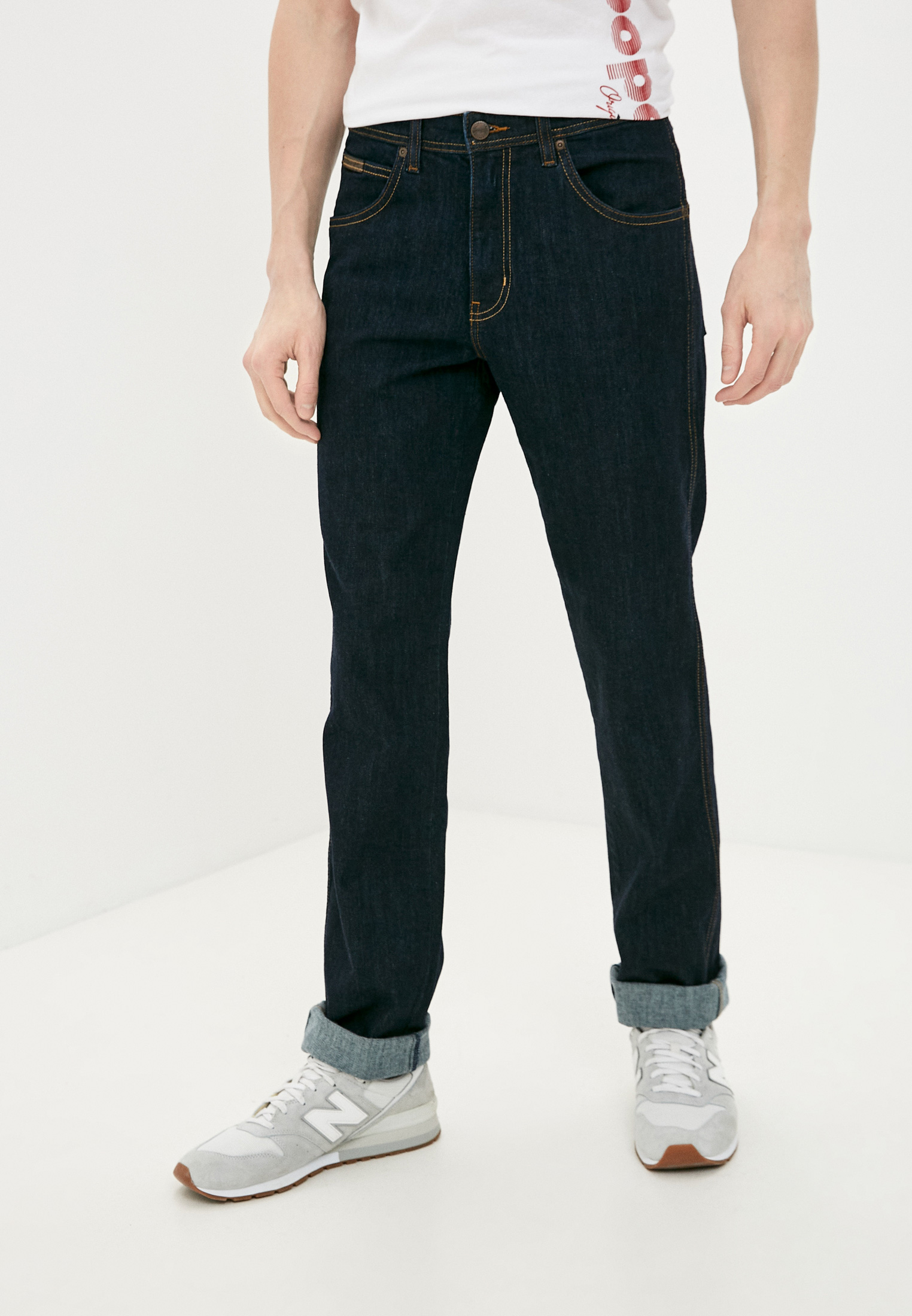 Мужские прямые джинсы Wrangler (Вранглер) W12OXG023