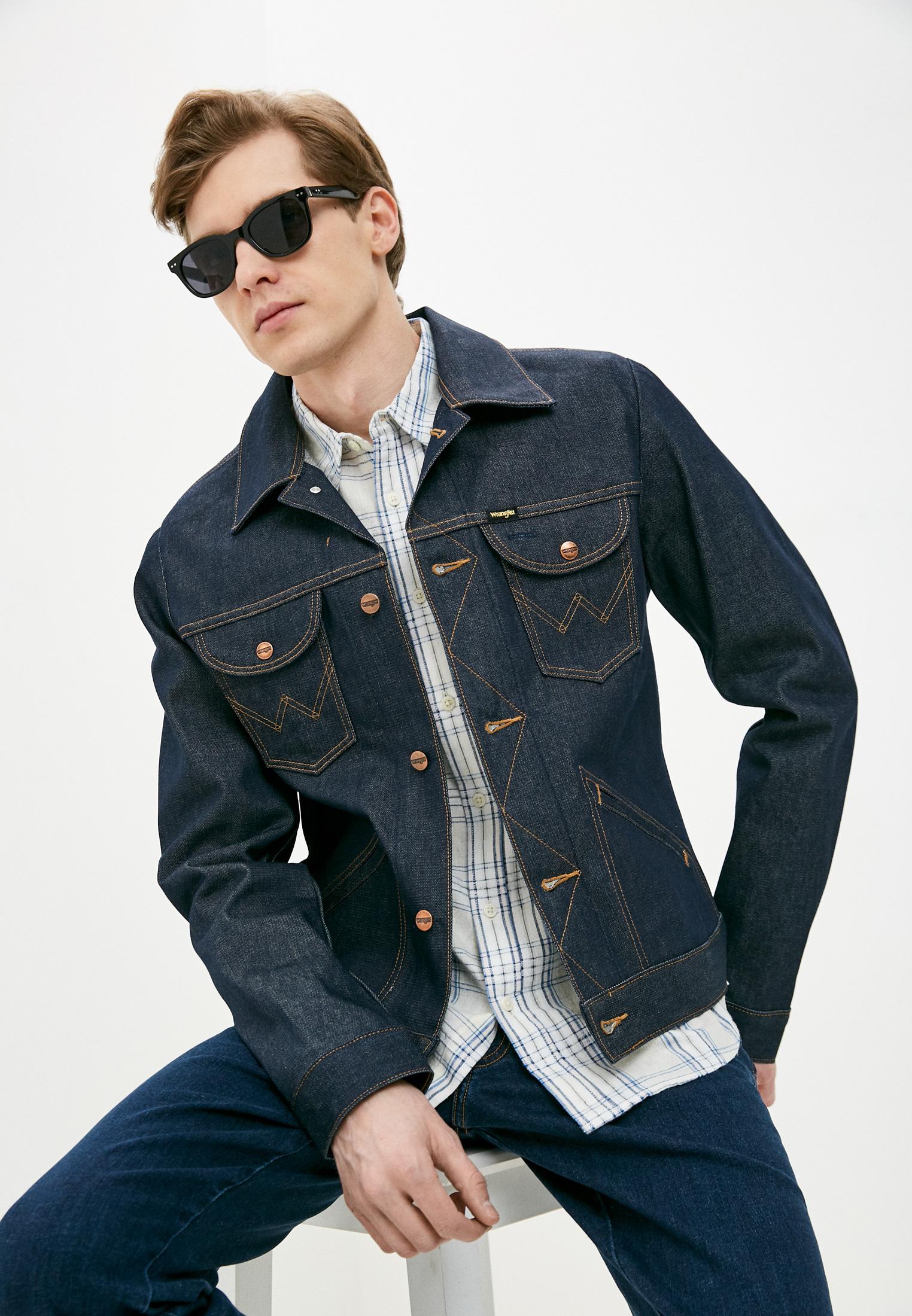 Джинсовая куртка Wrangler (Вранглер) W4MJUG301