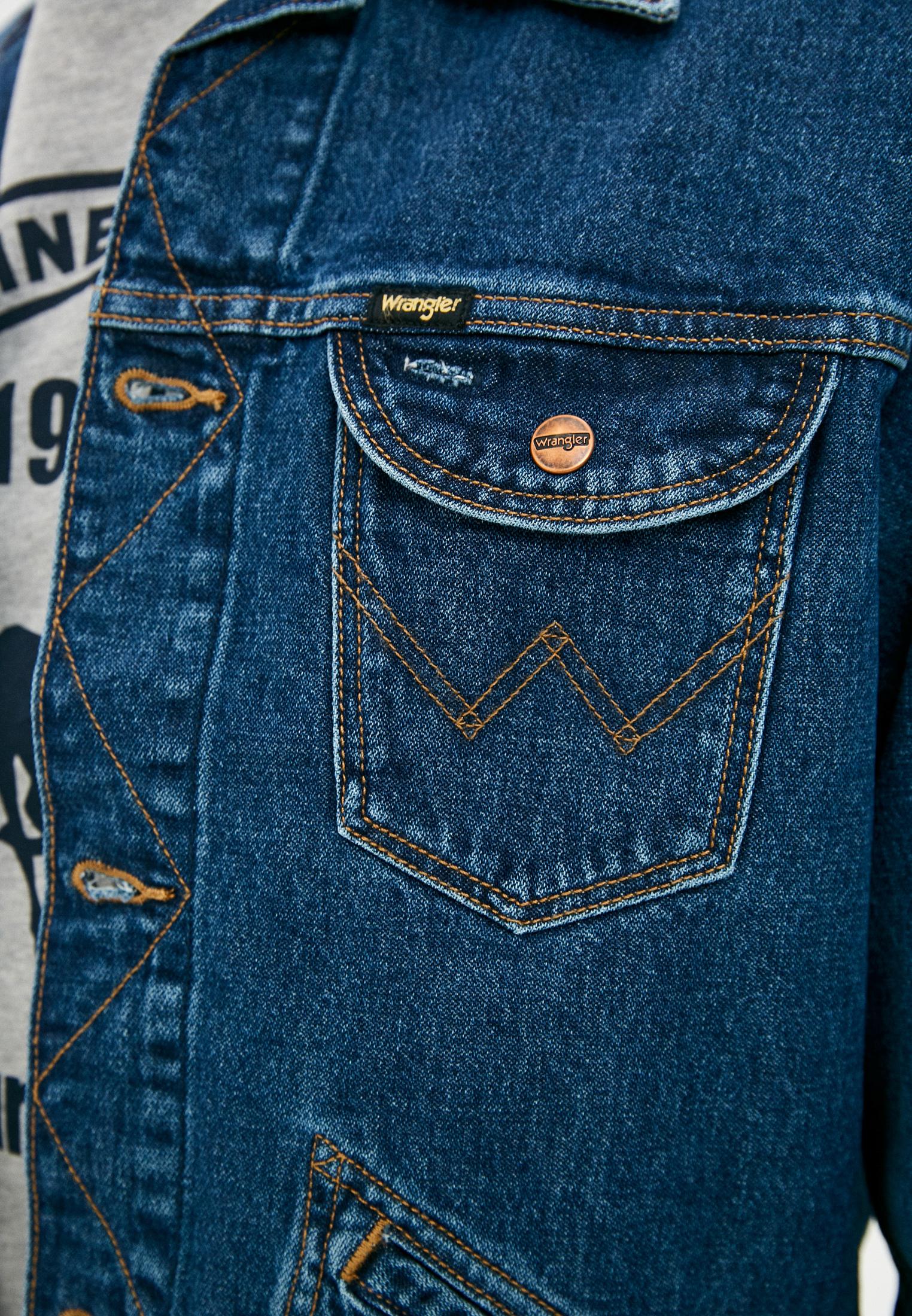 Джинсовая куртка Wrangler (Вранглер) W4MJUG923: изображение 7