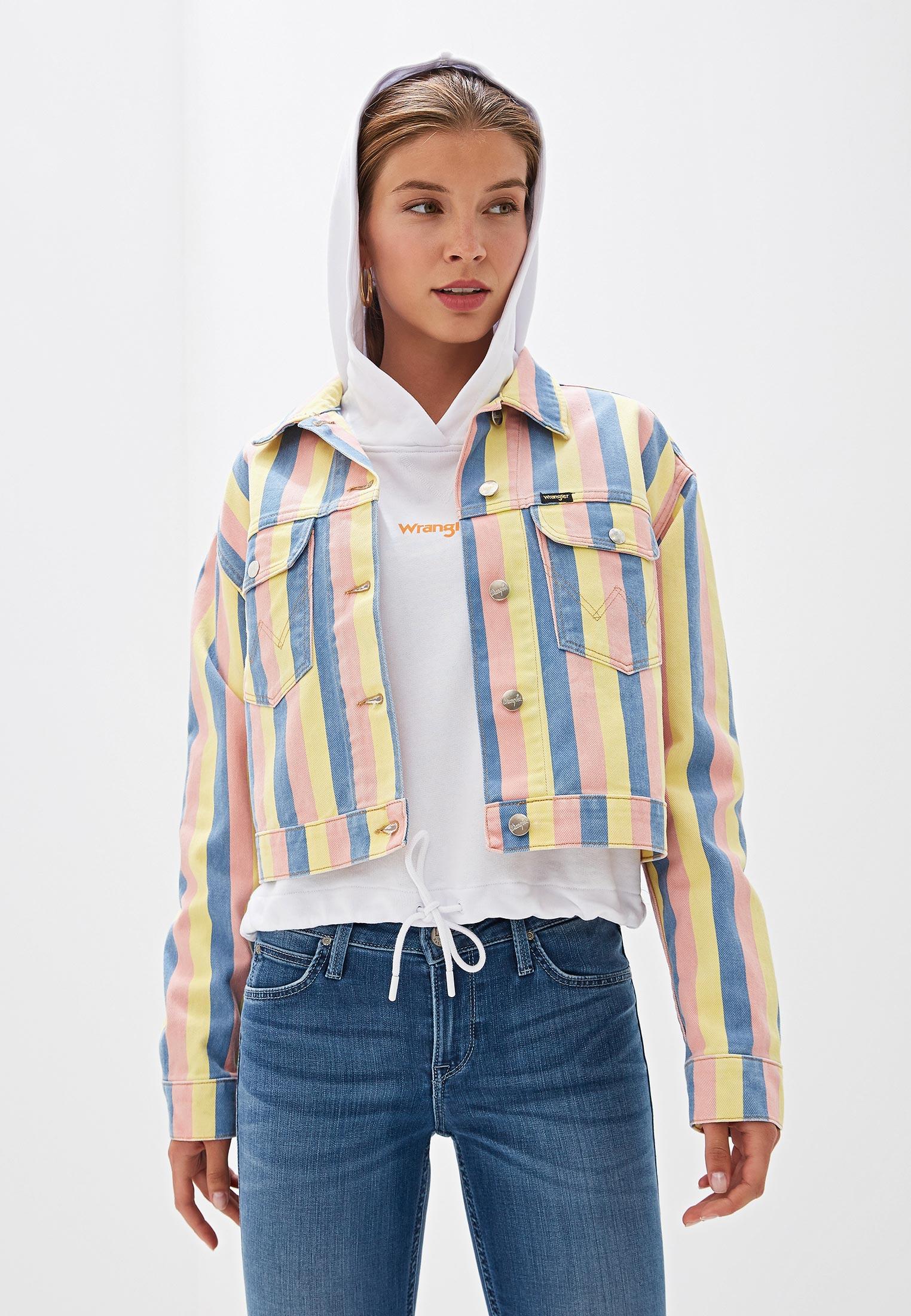 Джинсовая куртка Wrangler (Вранглер) W417WN48K
