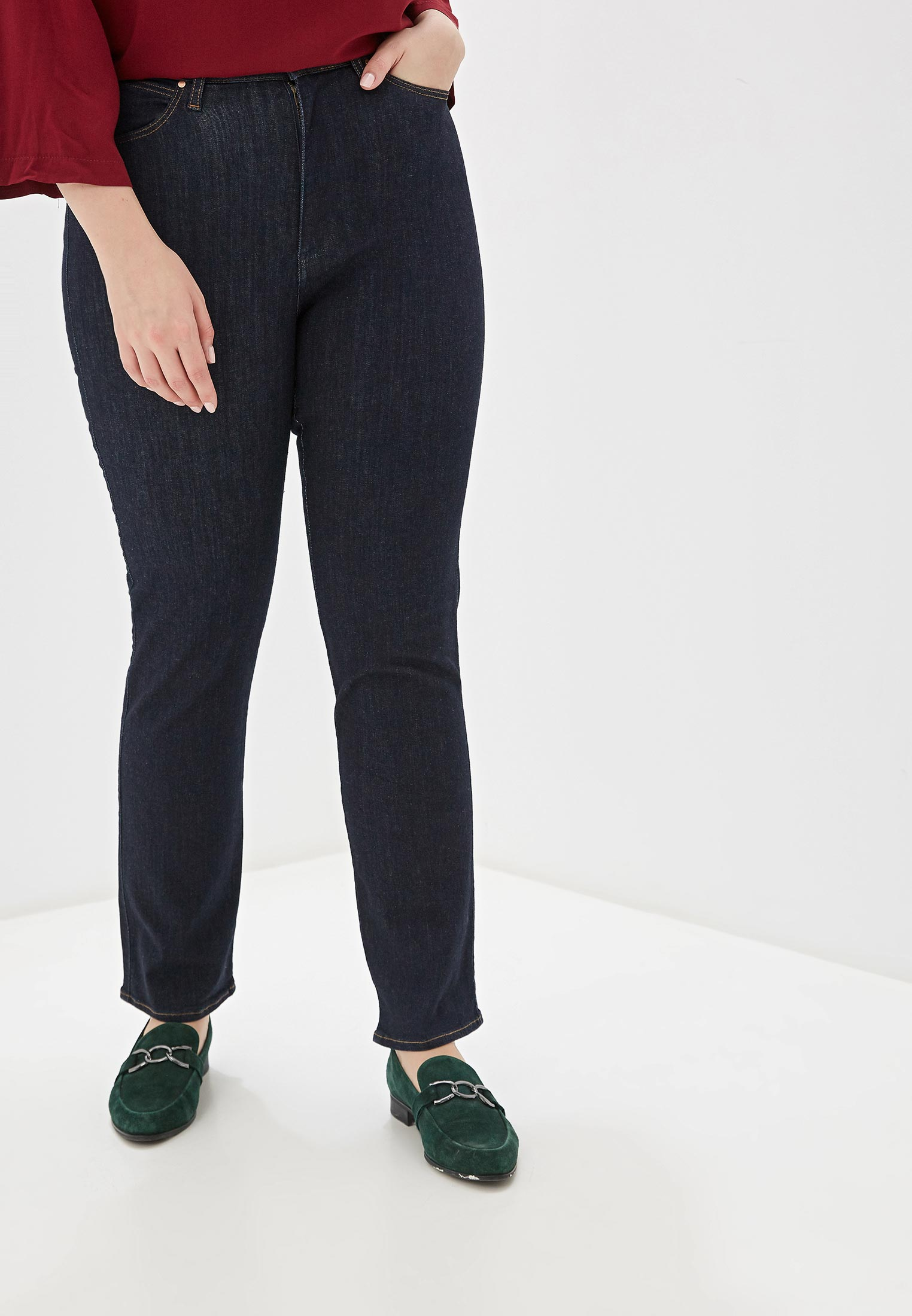 Прямые джинсы Wrangler (Вранглер) W24TWX023