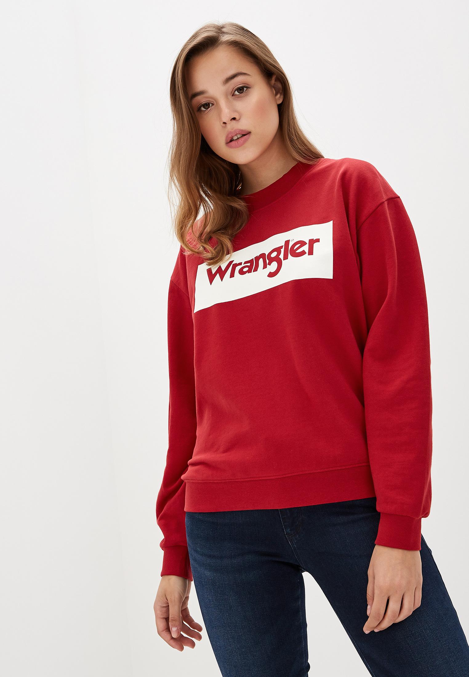 Женские свитшоты Wrangler (Вранглер) W6N0HPX47