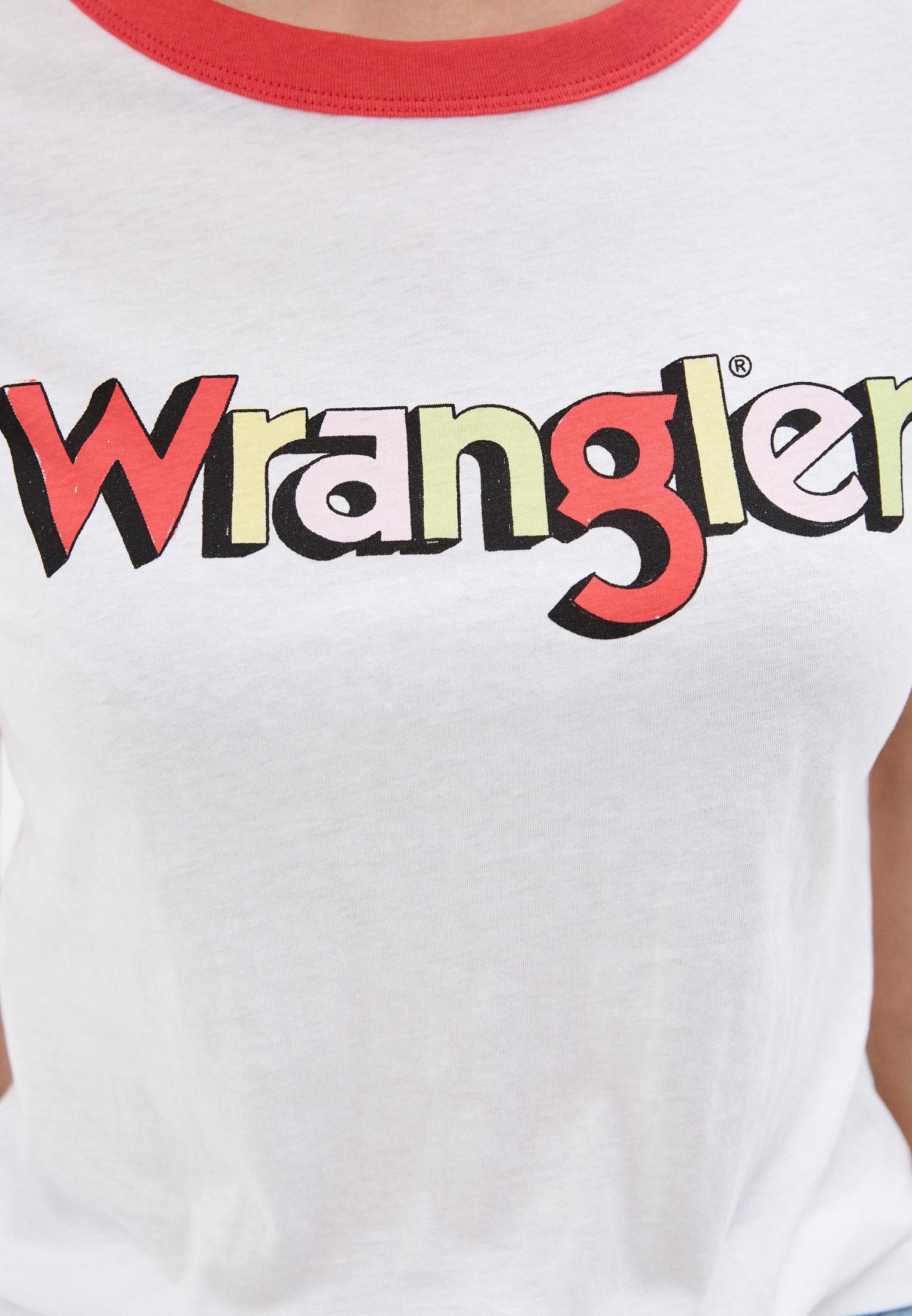 Футболка с коротким рукавом Wrangler (Вранглер) W7N0EVXLD: изображение 4