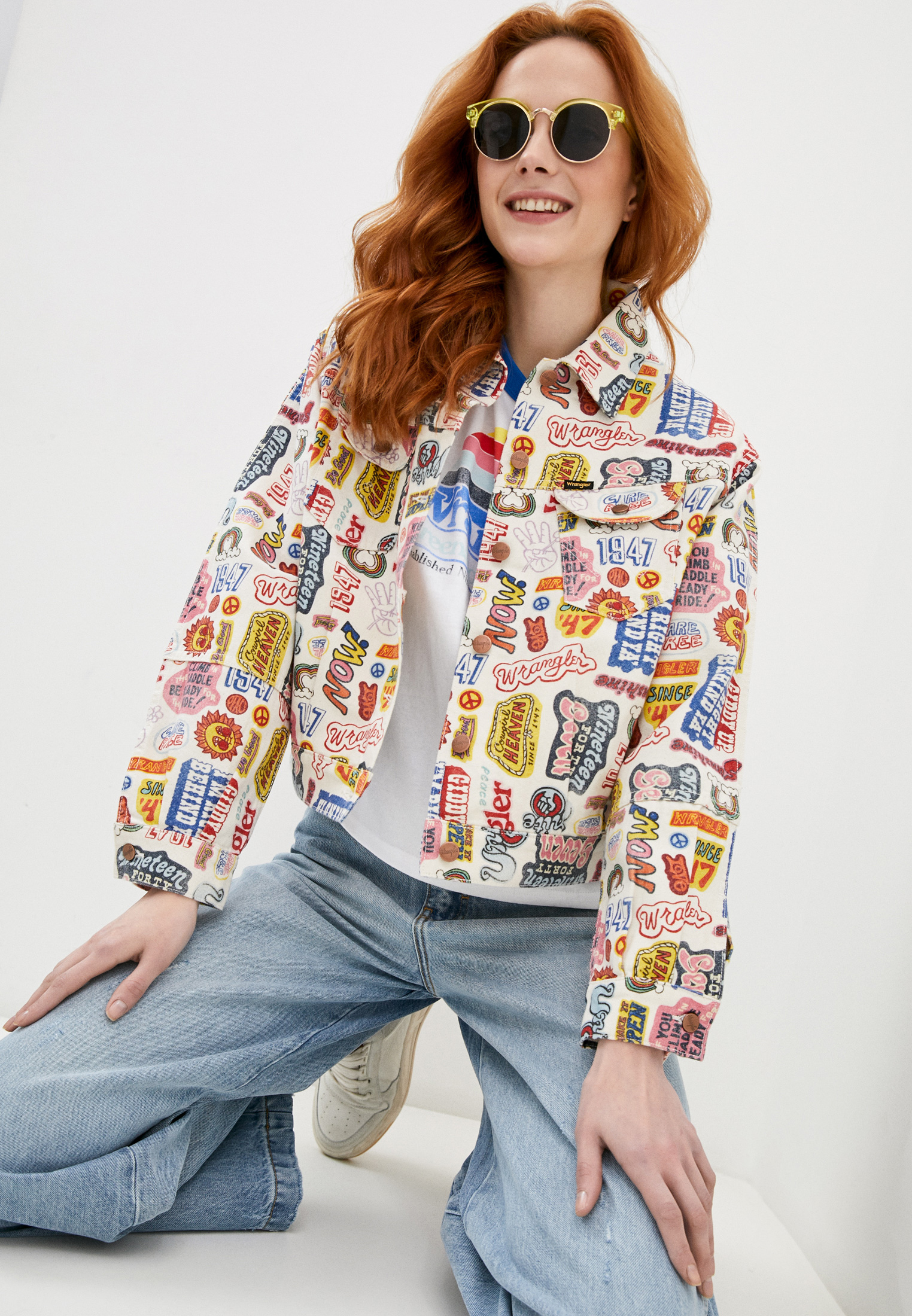 Джинсовая куртка Wrangler (Вранглер) W427E429A: изображение 1
