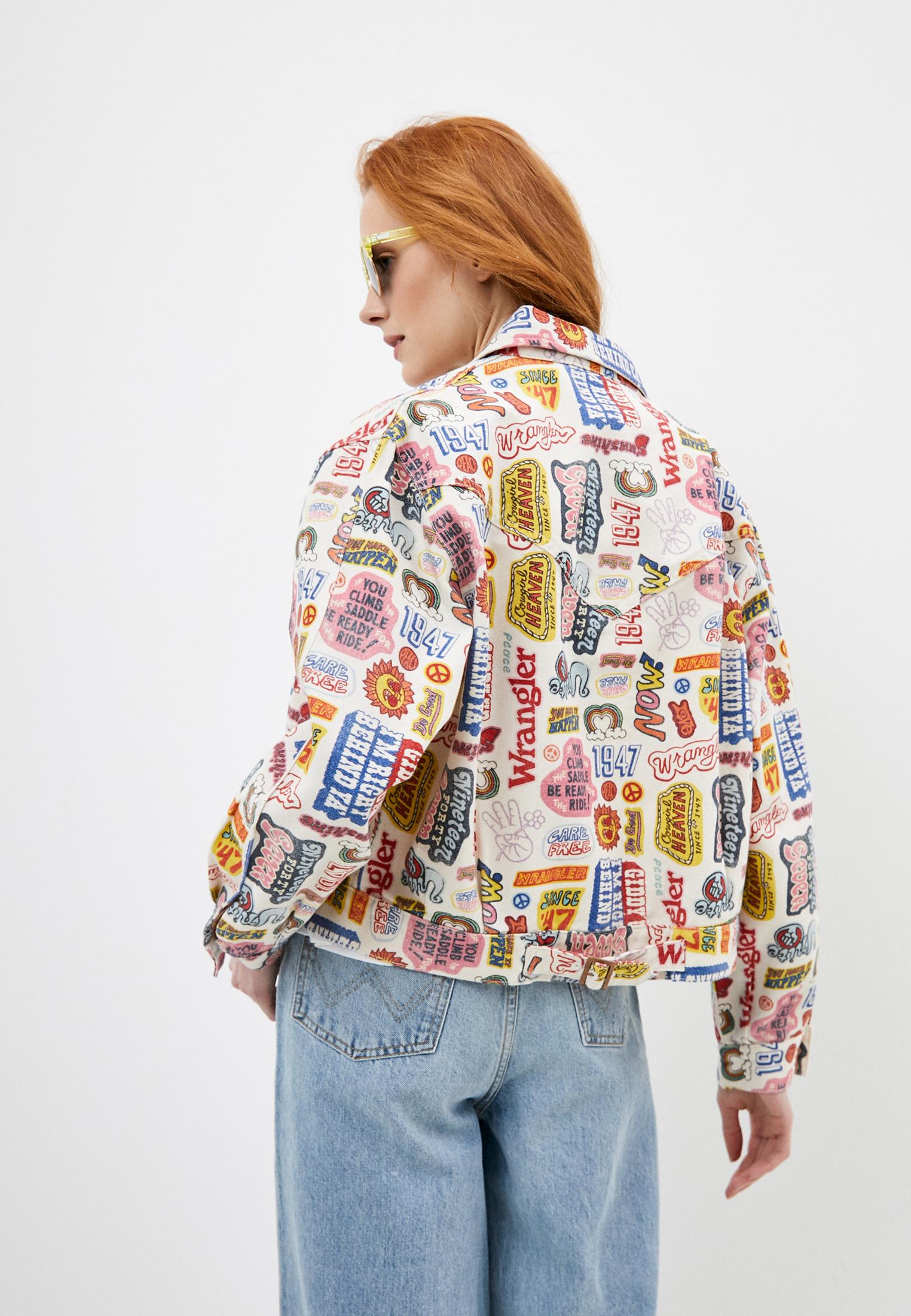 Джинсовая куртка Wrangler (Вранглер) W427E429A: изображение 3