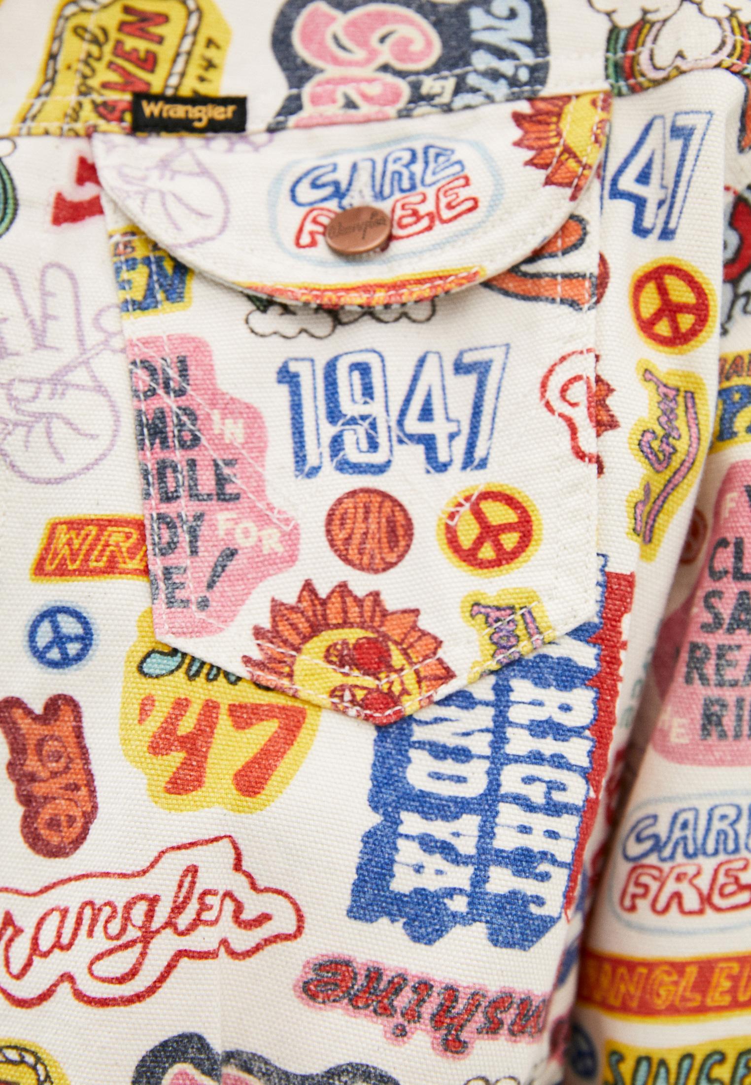 Джинсовая куртка Wrangler (Вранглер) W427E429A: изображение 4