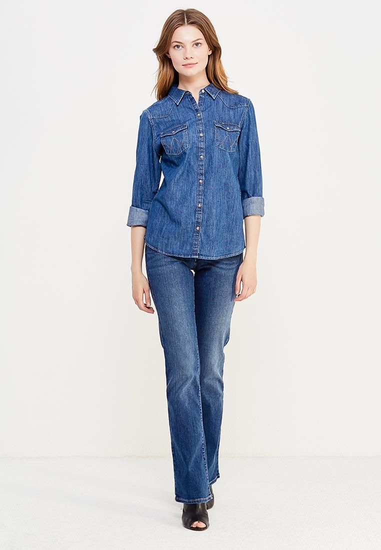 Широкие и расклешенные джинсы Wrangler (Вранглер) W28BX785U: изображение 2
