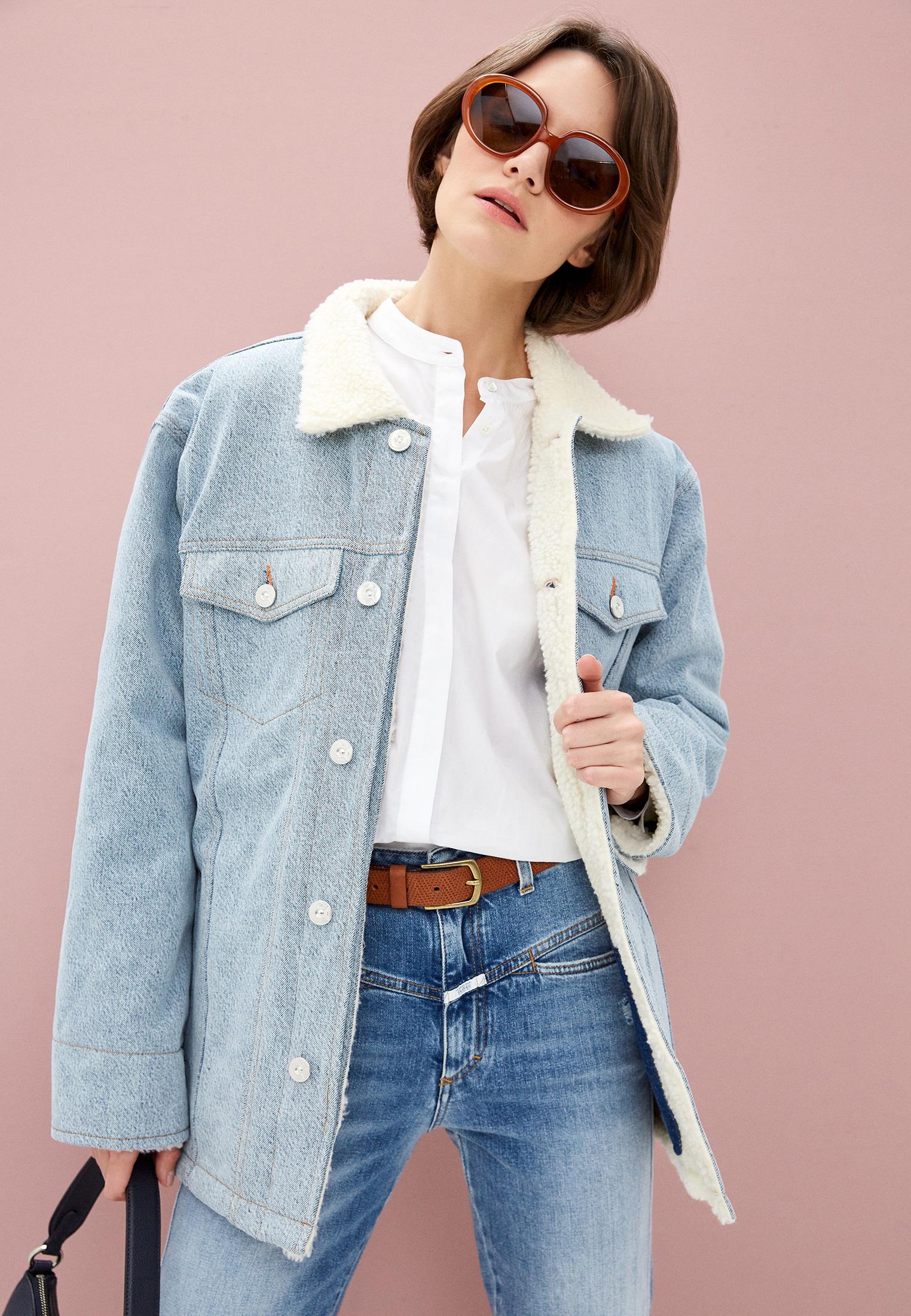 Джинсовая куртка 3X1 WJ0040866: изображение 2