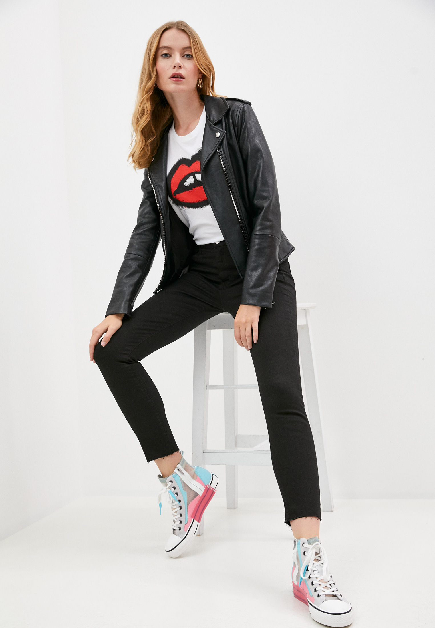 Зауженные джинсы 3X1 W2XCT0191: изображение 3