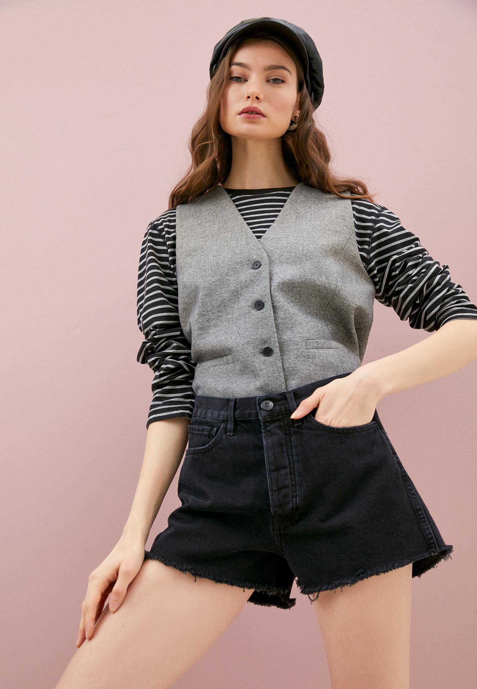 Женские джинсовые шорты 3X1 WSXSB1082: изображение 2